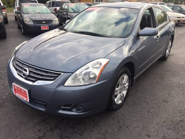 2010 NISSAN ALTIMA 2.5S LOW MILES 79K WITH GUARANTEED CREDIT APPROVAL!