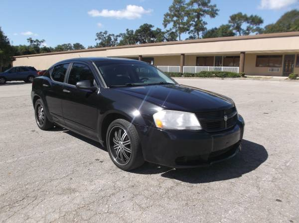 CASH SALE!-----------------2008 BLACK DODGE AVENGER/WHEELSSS$2995