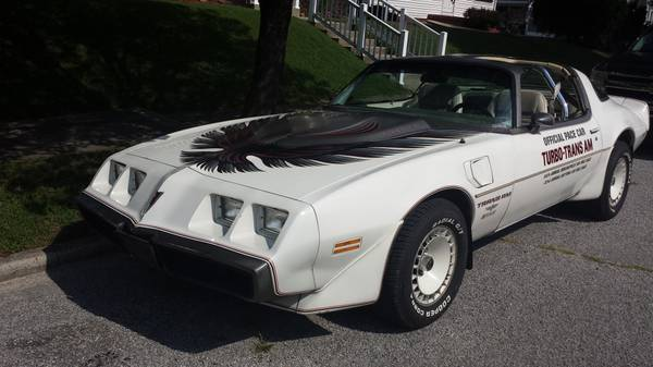 1980 PONTIAC TRANS-AM PACE CAR