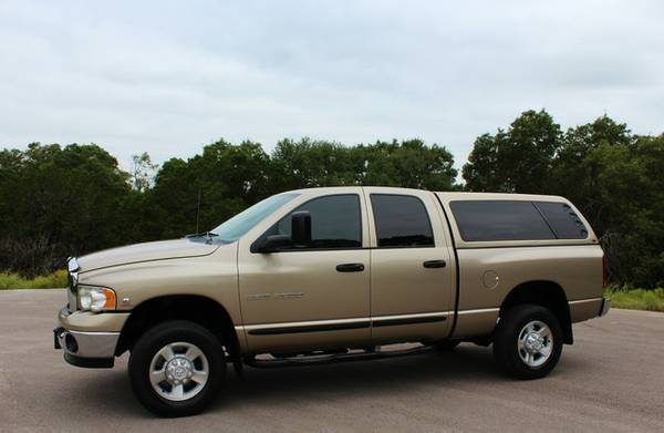 2003 DODGE 2500-5.9LDIESEL-4X4-6SPEED-SHORTBED-GRANDPA RIG! CALL NOW!!