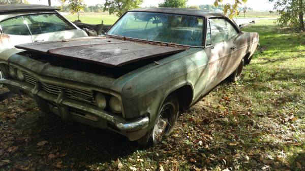 1966 impala SS barn find