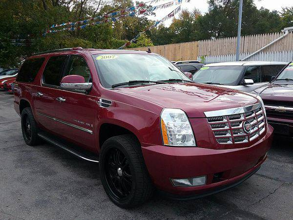 2007 *Cadillac* *Escalade* *ESV* *AWD* 4d Wagon *$499 Down Drives Toda