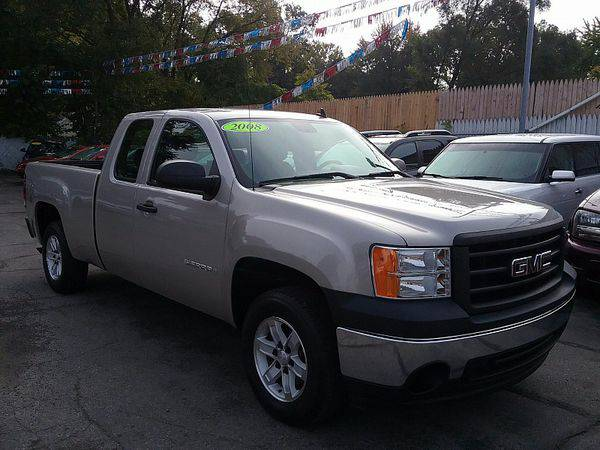2008 *GMC* *Sierra* *1500* *2WD* Ext Cab WT *$499 Down Drives Today!*