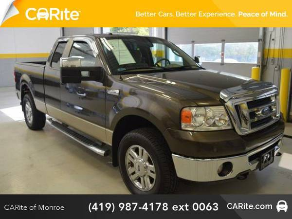 2008 *Ford F-150* 4WD SuperCab 133 XLT (Pueblo Gold Metallic)