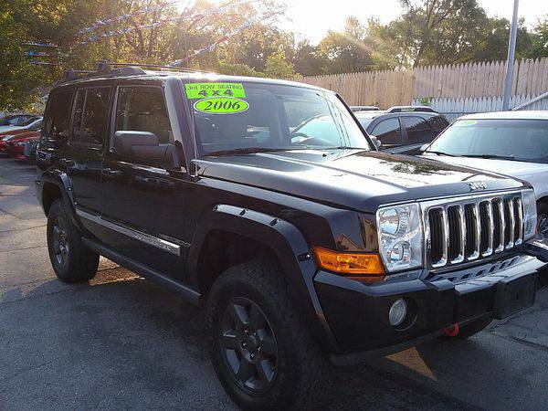 2006 *Jeep* *Commander* *4WD* 4d Wagon Limited Hemi *$499 Down Drives