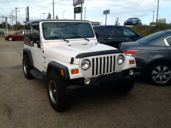 2003 Jeep Wrangler  /GREAT AC AUTO 4WD only 86000 miles