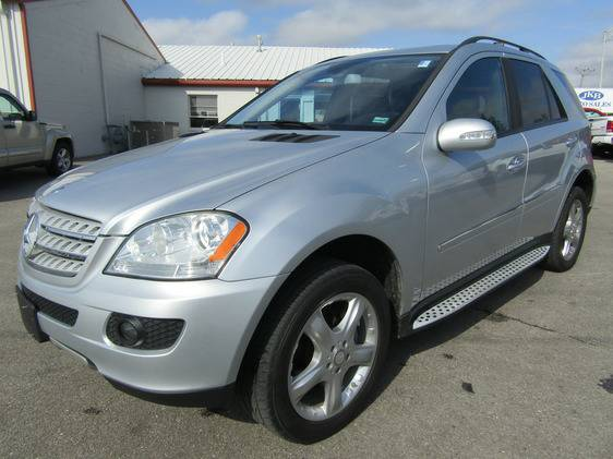 2008 MERCEDES BENZ ML320 4MATIC AWD DIESEL LEATHER NAV MOONROOF