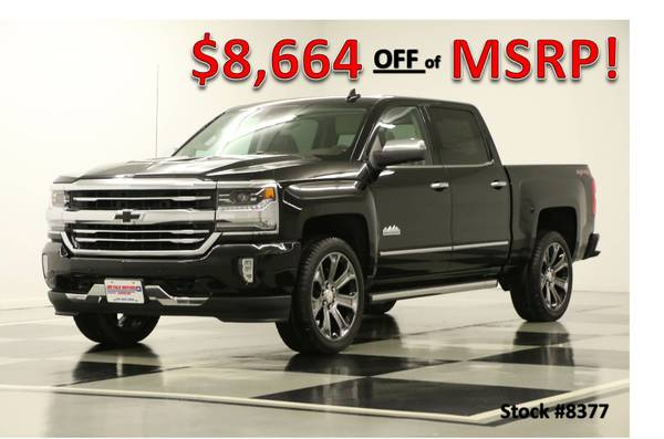 *LOADED SILVERADO 1500 CREW 4X4 w DVD* 2016 Chevy *SUNROOF - GPS*