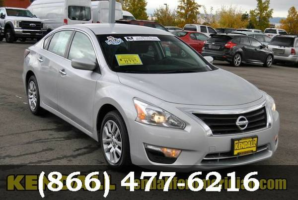 2014 Nissan Altima Brilliant Silver Metallic *SAVE NOW!!!*