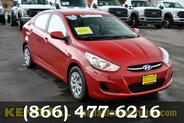 2015 Hyundai Accent Boston Red Metallic Best Deal!!!