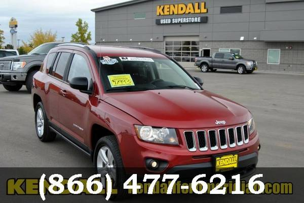 2016 Jeep Compass Redline 2 Coat Pearl Sweet deal!!!!