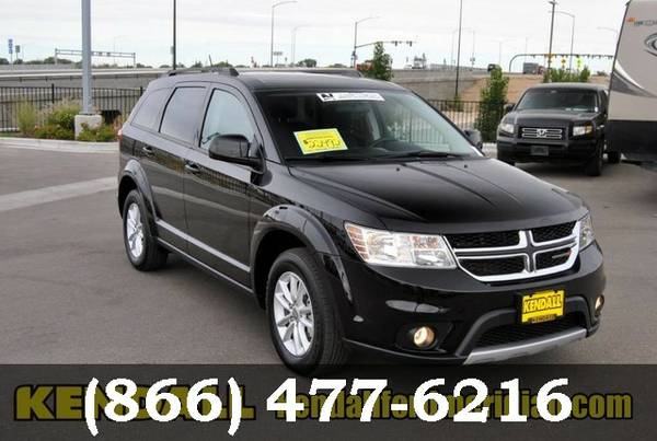 2016 Dodge Journey Pitch Black Clearcoat LOW PRICE - Great Car!