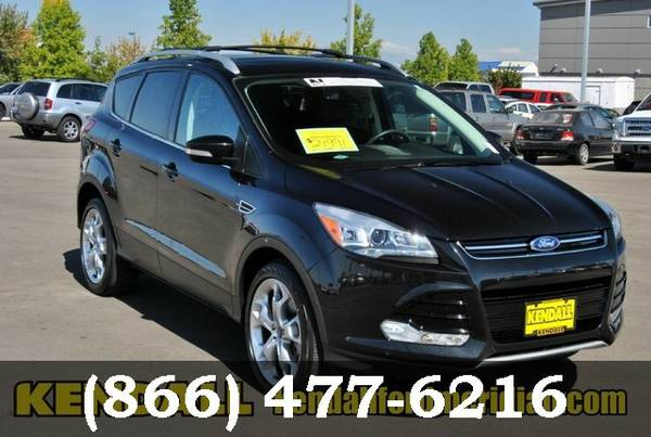 2013 Ford Escape Tuxedo Black Low Price..WOW!