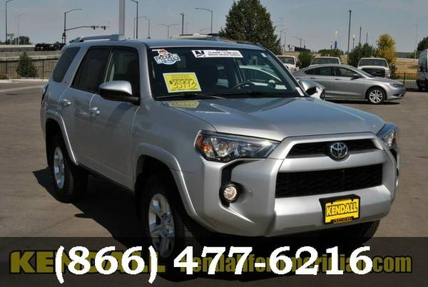 2016 Toyota 4Runner SILVER Good deal!