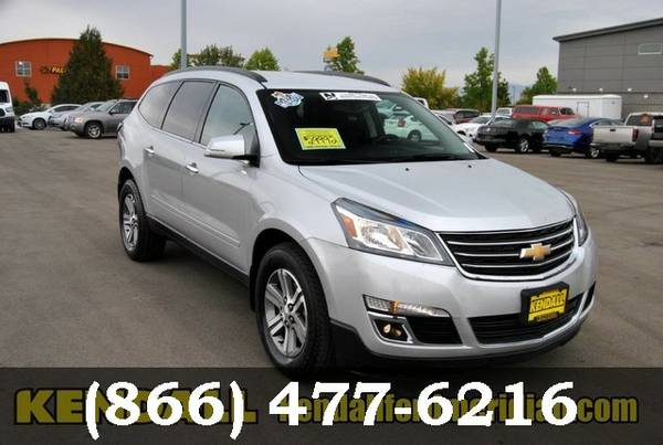 2016 Chevrolet Traverse Silver Ice Metallic ON SPECIAL - Great deal!