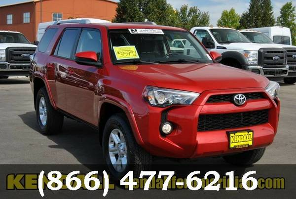 2016 Toyota 4Runner RED *SAVE $$$*