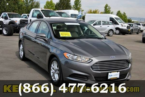 2014 Ford Fusion Sterling Gray Metallic Great Deal!
