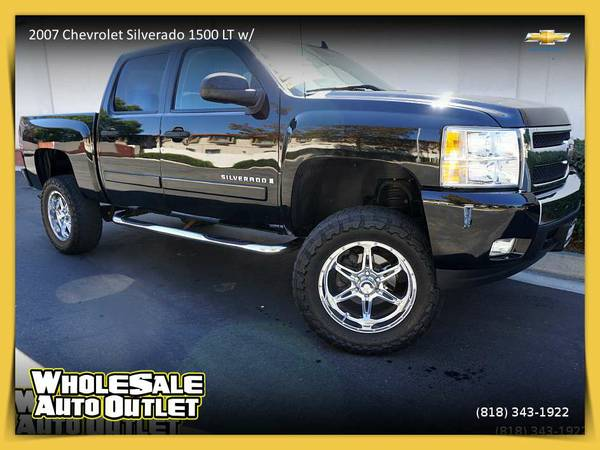 2007 Chevrolet Silverado 1500 LT w/1LT Pickup - Unbelievably Priced...