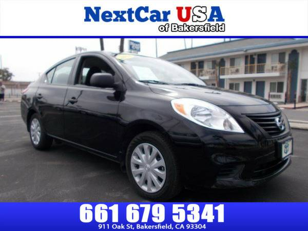 *2014* *Nissan* *Versa* *S* **As Low as $495 Down**