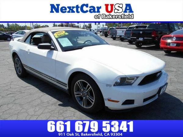 *2010* *Ford* *Mustang* *V6 Premium* **As Low as $495 Down**