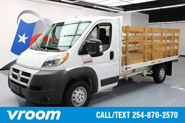 2015 RAM ProMaster 3500 Cab Chassis Low Roof 7 DAY RETURN / 3000 CARS