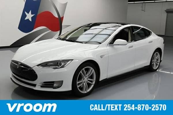 2012 Tesla Model S 4dr Liftback Sedan 7 DAY RETURN / 3000 CARS IN STOC