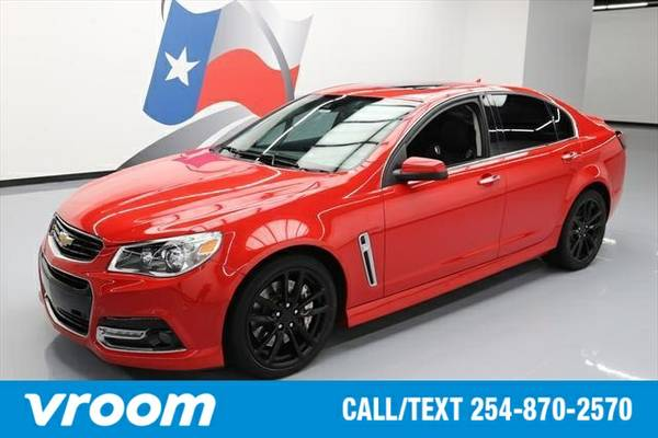 2014 Chevrolet SS Base 4dr Sedan Sedan 7 DAY RETURN / 3000 CARS IN STO