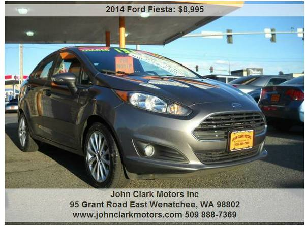 2014 FORD FIESTA...AUTO...LOADED...GREAT MPG!!!