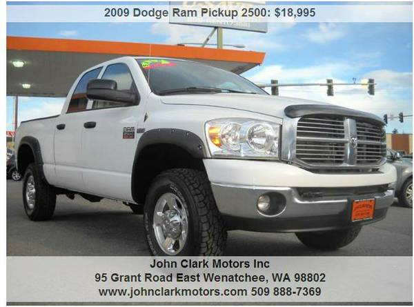 2009 DODGE RAM 2500 HEAVY DUTY SLT 4X4...ONE OWNER