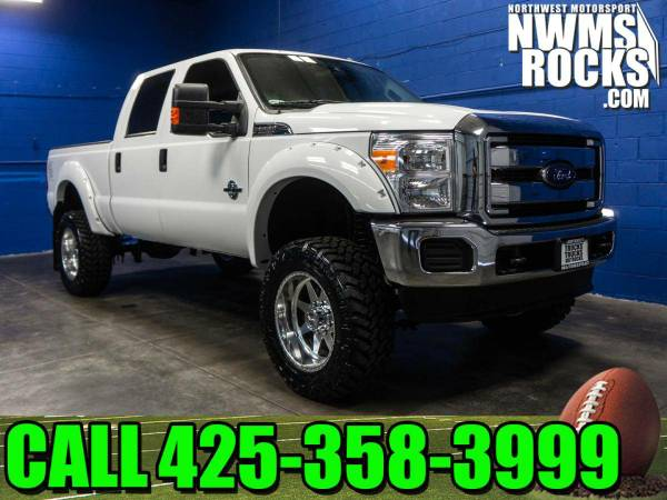 Lifted 2016 *Ford F250* XLT 4x4 - Off Road Tires! 2016 Ford F-250 XLT