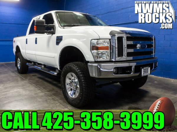 Lifted 2008 *Ford F250* Lariat 4x4 - Power Driver Seat! 2008 Ford F-25