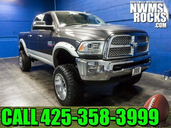 Lifted 2015 *Dodge Ram* 2500 Laramie 4x4 - 2015 Dodge Ram 2500 Laramie