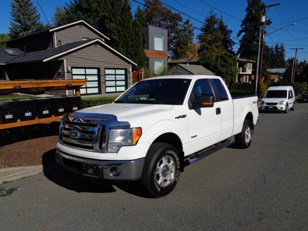 @1 OWNER**2011 FORD*F-150*4X4*SUPER CAB*6.5 BD*XLT*BACK UP CAM*TOW PKG