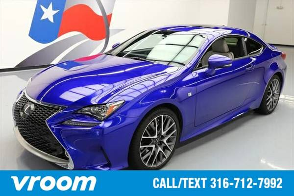 2015 Lexus RC 350 2dr Coupe 7 DAY RETURN / 3000 CARS IN STOCK