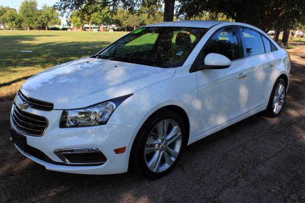 2016 CHEVROLET CRUZE LIMITED! LOADED! LEATHER! ALLOYS!