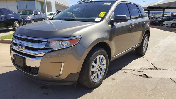 2013 Ford Edge Limited, Leather Loaded, Clean carfax 1-owner