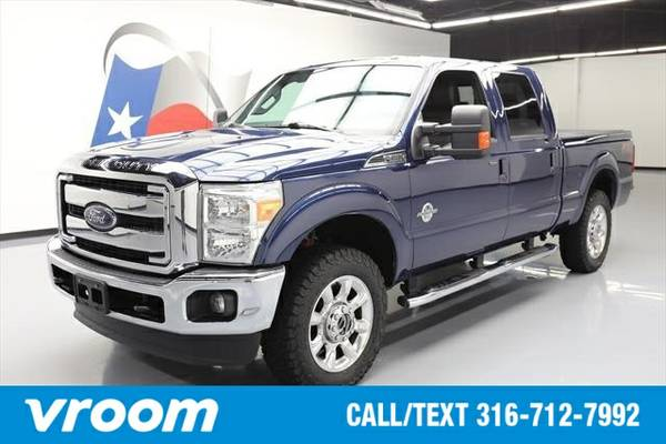 2015 Ford F-250 4x4 Lariat 4dr Crew Cab 6.8 ft. SB Pickup Truck 7 DAY