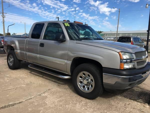**2005 Chevrolet Silverado 1500**4X4--LS QUADSTEERING!
