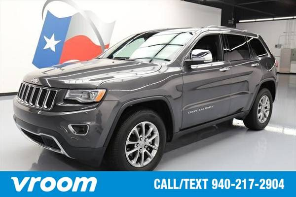 2016 Jeep Grand Cherokee Limited 7 DAY RETURN / 3000 CARS IN STOCK