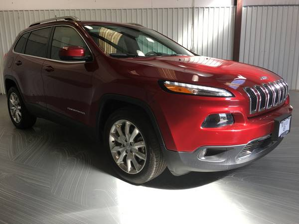 2016 JEEP CHEROKEE (LIMITED);LEATHER*REAR BACK UP*TECH PKG*HUGE RADIO!