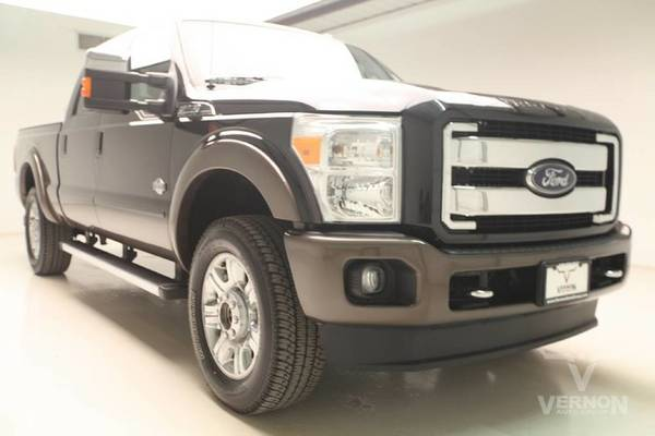 Ford Stock D4223A 2015 Super Duty F-250 Pickup Truck King Ranch Crew...