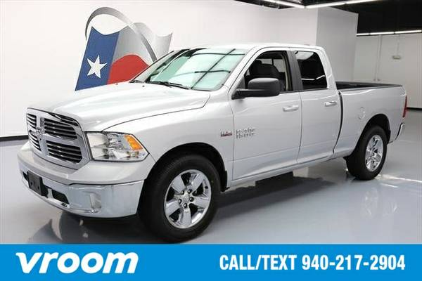 2016 RAM 1500 4x2 Big Horn Fleet 4dr Quad Cab 6.3 ft. SB Pickup Truck