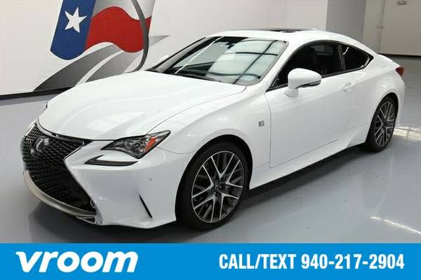 2015 Lexus RC 350 7 DAY RETURN / 3000 CARS IN STOCK