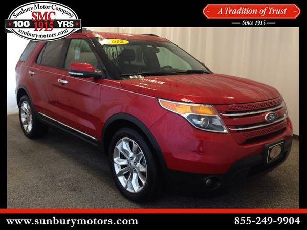 2012 Ford Explorer - *GET TOP $$$ FOR YOUR TRADE*