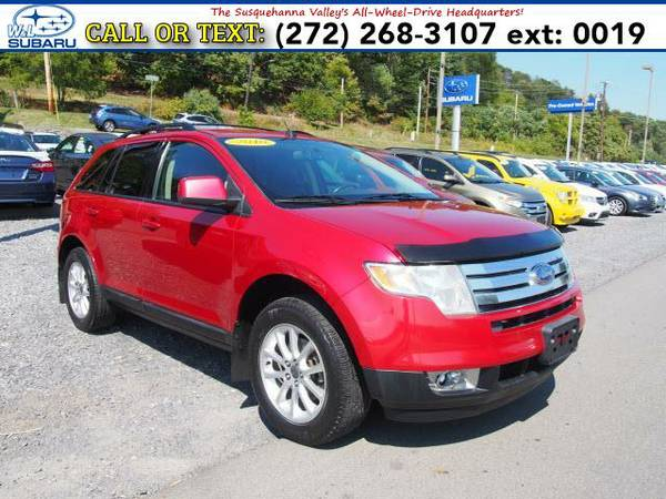 2010 *Ford Edge* SEL (Red) BAD CREDIT OK!