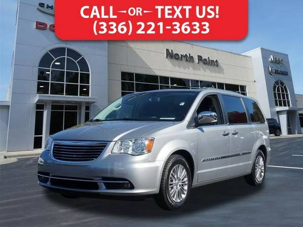 2013 Chrysler Town & Country Touring-L Van Town & Country Chrysler