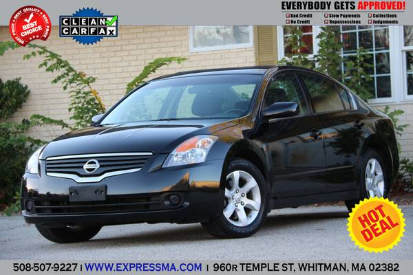2008 *Nissan Altima* 2.5 S 4dr BLACK ON BLACK!!BEST DEAL!!
