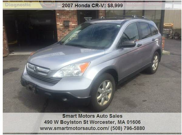 2007 HONDA CRV EX AWD FULLY DETAILED -- RUNS LIKE NEW +++++
