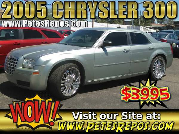 2005 Chrysler 300 __ Like New 300 Clean Title