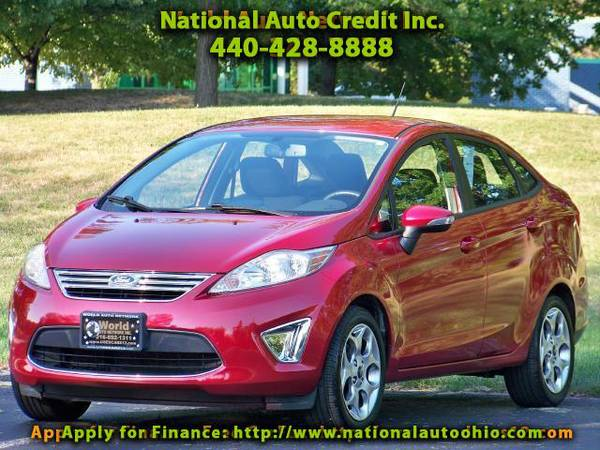 2011 Ford Fiesta SEL Sedan. Information Center Display. Alloy Wheel